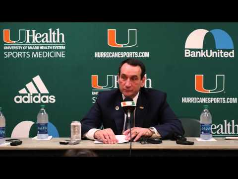 Duke Head Coach Mike Krzyzewski | Post Game Presser | 01.25.16