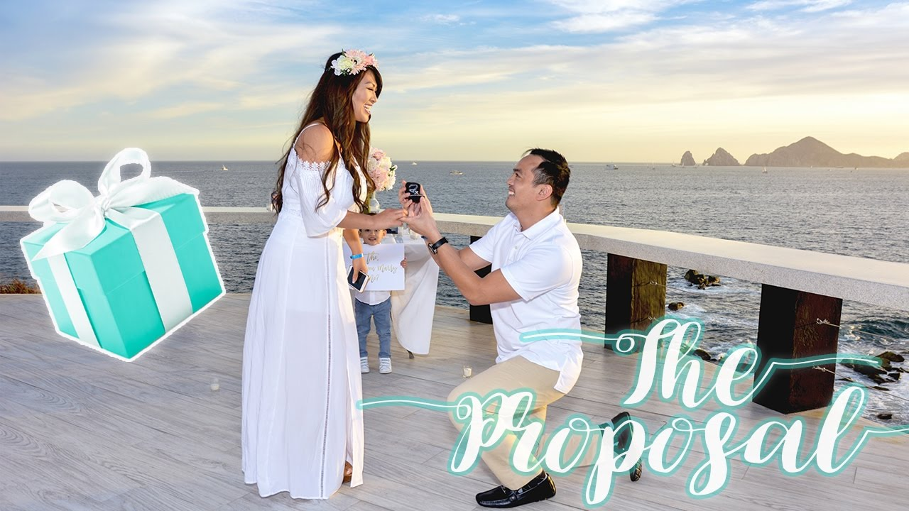 Best Marriage Proposal Ever Surprise Wedding The Boyfriend Tag Life Of Princess T