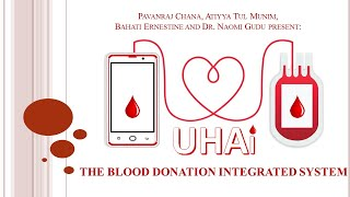 HotDoc: Uhai – Blood Donation Integrated System I Pavanraj Chana, Atiyya Munim, Bahati and Dr. Gudu