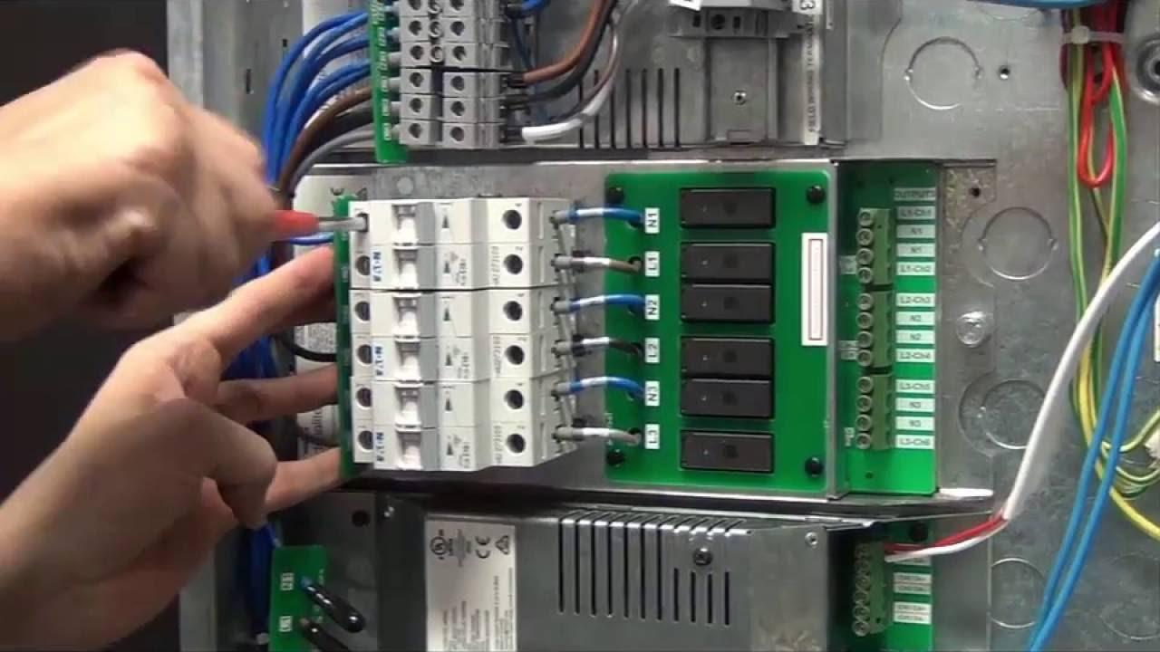 Philips Dynalite DMC4 Installation