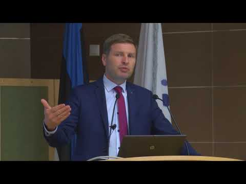 Akadeemilise Ühistegevuse Seltsi VII Ühistukonverents - Kõneleb Hanno Pevkur
