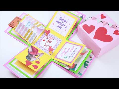 Mother's Day Craft - Exploding Gift Box