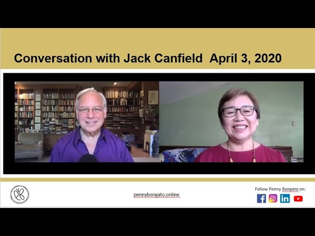 Conversation with Jack to stay positive
