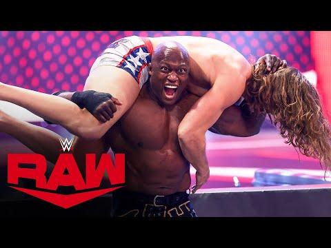 Riddle vs. Bobby Lashley: Raw, April 12, 2021