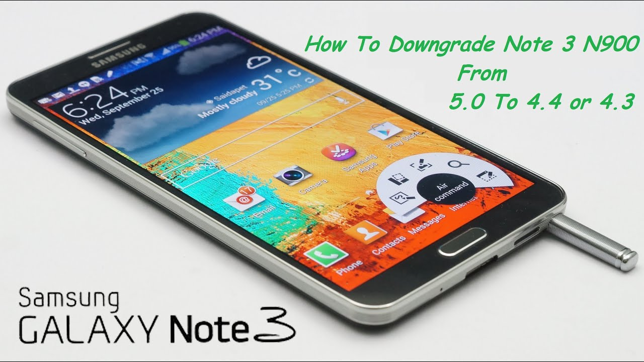How To Downgrade Note 3 N900 From 5 0 To 4 4 or 4 3 & IMEI Fix without Root
