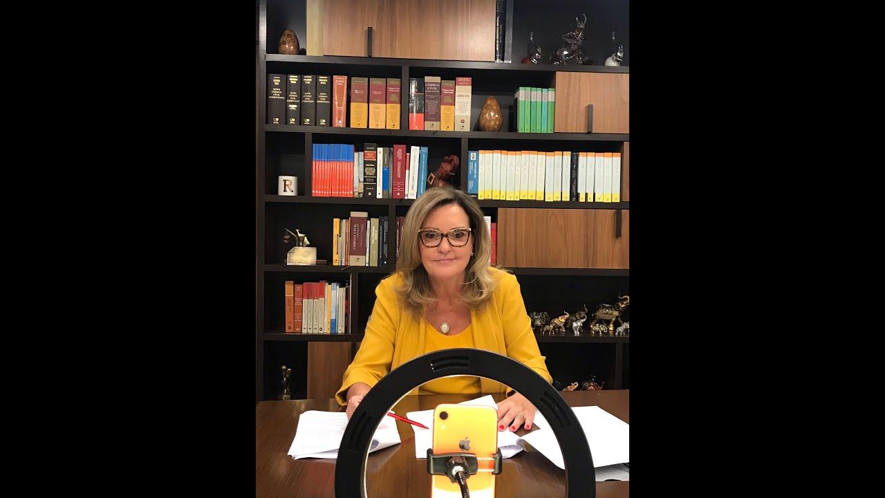 Drª Regina Beatriz, comenta em live o impedimento de concessão de pensão previdenciária para amantes