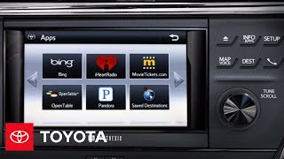 2013 Avalon How-To: Premium HDD Navigation - Apps | Toyota