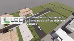 Lotissement Le Domaine de la Font d'Estève à Cadours (31480)