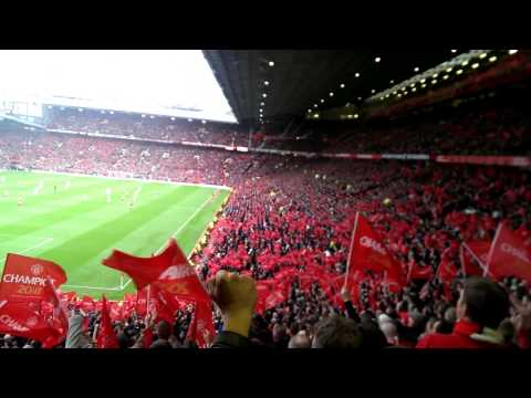 Man Utd Fans Old Trafford Compilation