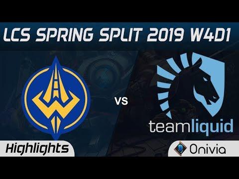 GGS vs TL Highlights LCS Spring Split 2019 W4D1 Golden Guardians vs Team Liquid by Onivia
