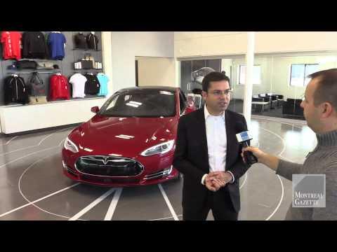 Tesla opens new Montreal dealership