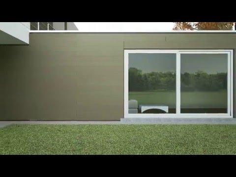 Вентилируемый фасад из ДПК Twinson O Wall. Вентфасады Твинсон от Terradeck