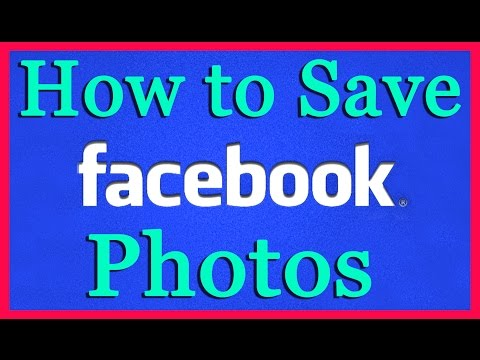 How do i copy a photo album from facebook to my computer