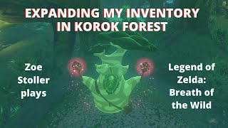 Expanding my Inventory with Hestu! | Korok Forest in Breath of the Wild | Zoe Stoller