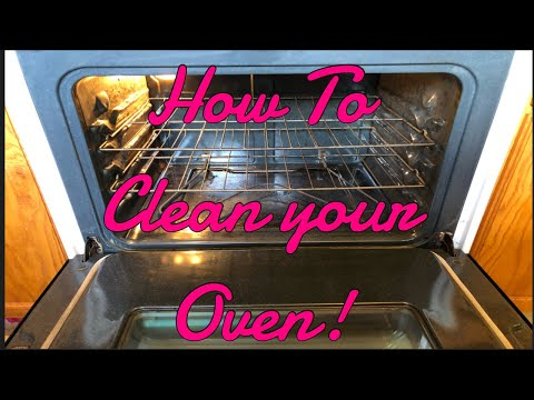 How To Clean Your Oven| Baking Soda & Vinegar