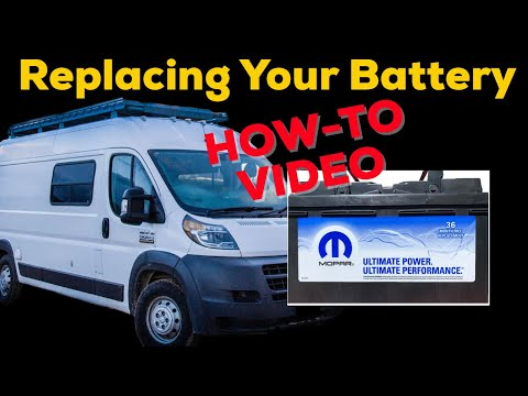 """""""Citroen Jumper / Peugeot Boxer / Fiat Ducato/ Promaster- How To Change Your  Battery"""