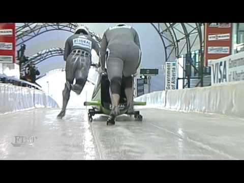 2010 Calgary World Cup Women's Bobsleigh