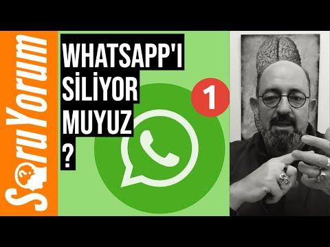 SoruYorum - WhatsApp'ı Siliyor Muyuz ?