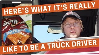 Truck Driver Salary: Here's What It's REALLY Like to Be a Truck Driver!!