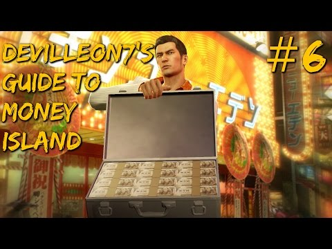Yakuza 0 - Money Island Walkthrough #6: Onto The Media King!