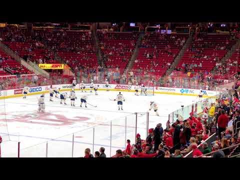 12/23/17 Buffalo Sabres at Carolina Hurricanes - NHL Hockey Live at PNC Arena Pregame and Post Game
