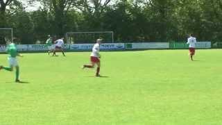 Voetbalwedstrijd Sp Rekken - V.v. Vosseveld