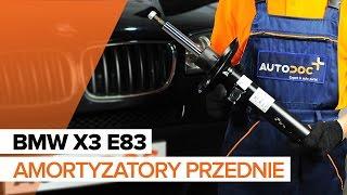 Jak wymienić amortyzatory przednie w BMW X3 E83 TUTORIAL | AUTODOC