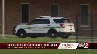 School evacuated after threat
