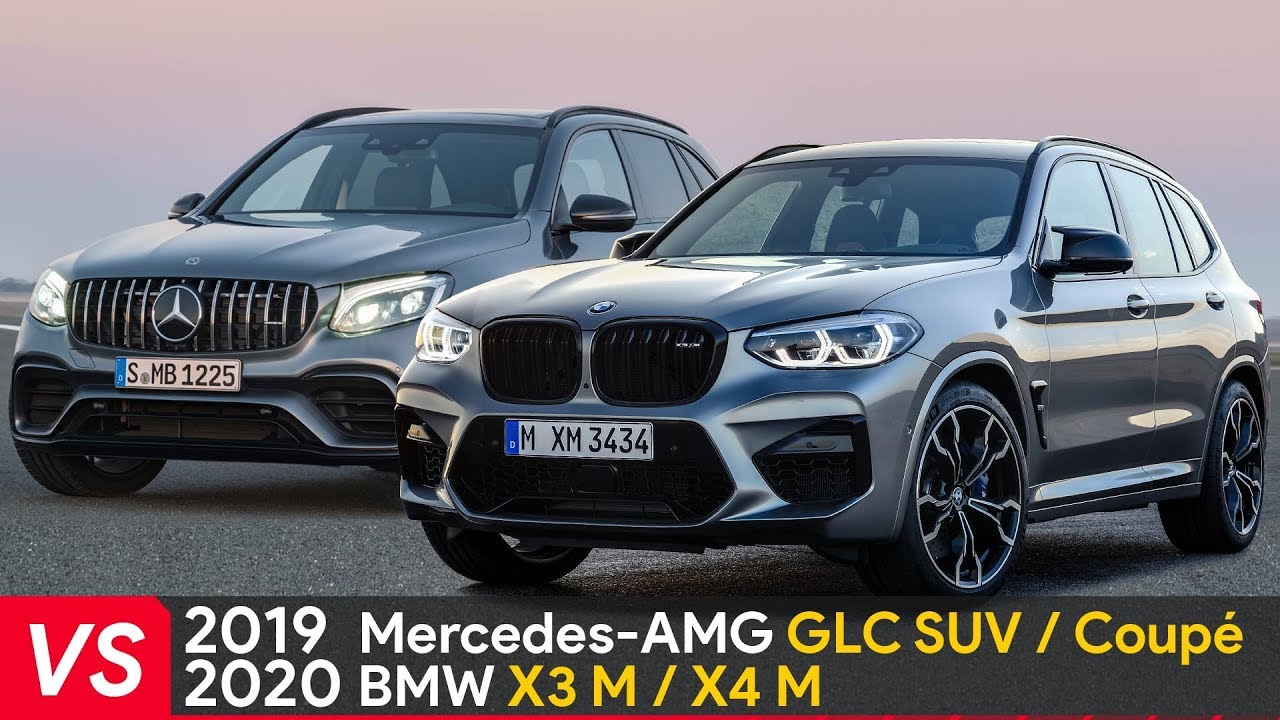 2020 Bmw X3 M X4 M Vs Mercedes Amg Glc Suv Coupe Design Specifications