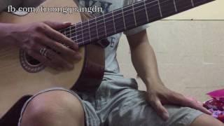Bài 6: Hướng dẫn chơi guitar bài Mặt Trời Bé Con + Intro - Điệu Fox