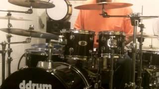 ddrum d2 7 Piece Drum Set Sound Test Review