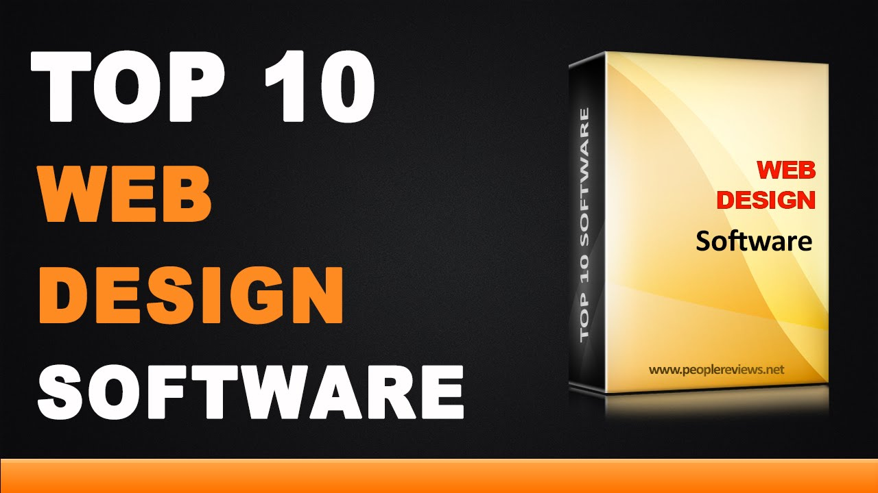 Best web design software top 10 list youtube for Best names for interior designing firm