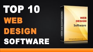 Best Web Design Software - Top 10 List