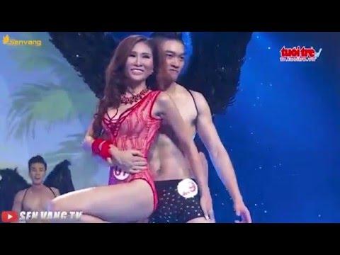 Siêu mẫu Việt Nam, Tuấn Anh, Khả Trang đoạt giải siêu mẫu qua các phần thi, áo tắm, áo dài