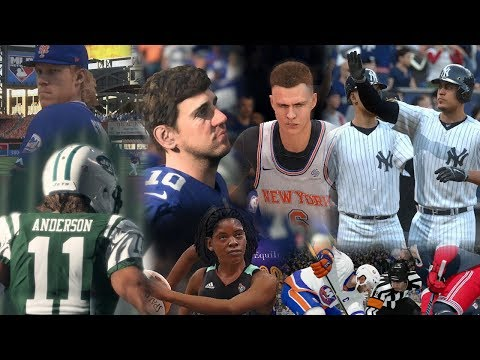 """NEW YORK CITY"" Sports - Music Video/Montage (Yankees, Knicks, Giants, Jets, Rangers and more!)"