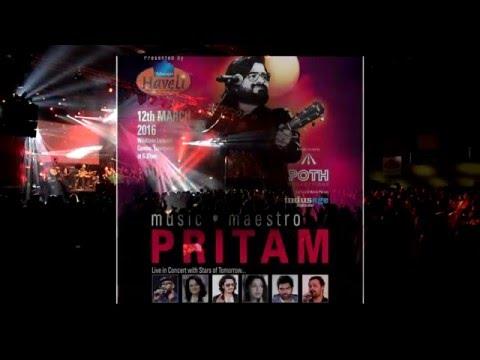 Pritam,Aditi Sharma, Nakash Aziz, Sreerama Chandra, singing Pea Loon.
