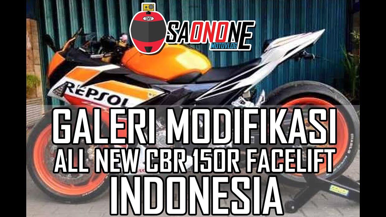 KEREN Galeri Modifikasi All New Honda CBR 150R Facelift Indonesia