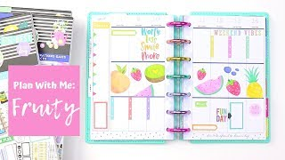 MINI Plan With Me | Fruity