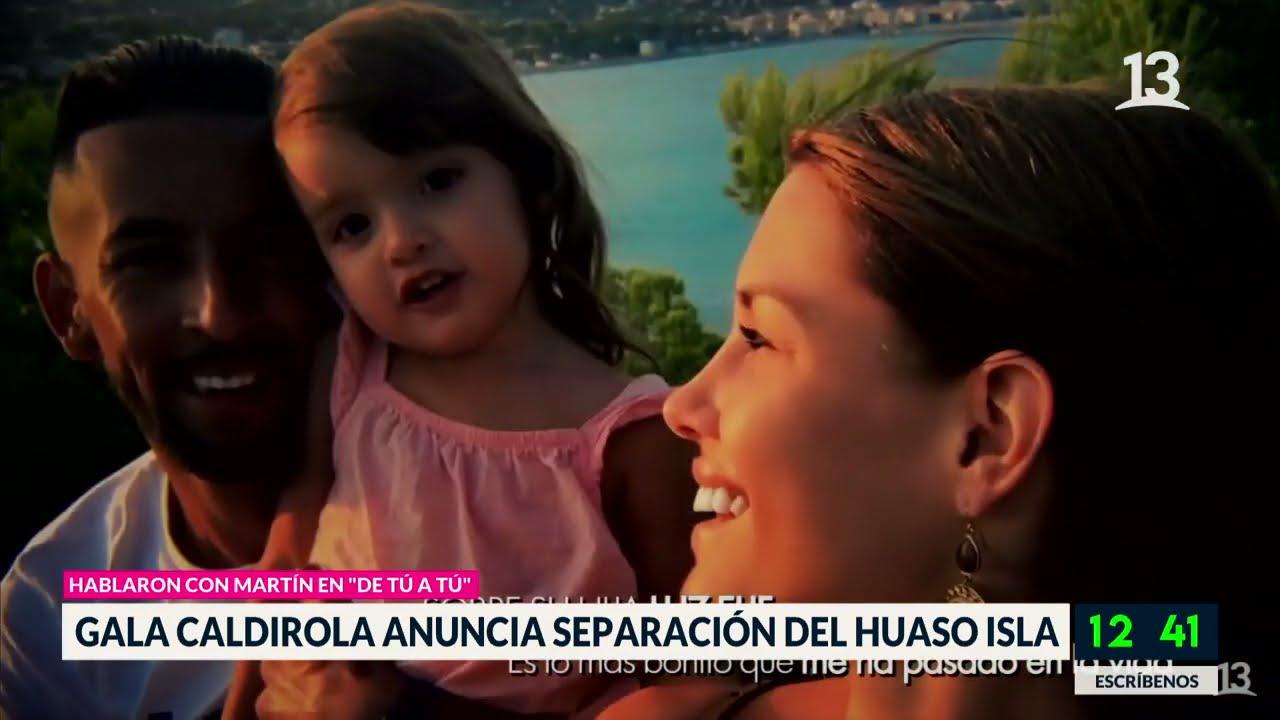Gala Cardiola anuncia separación del Huaso Isla
