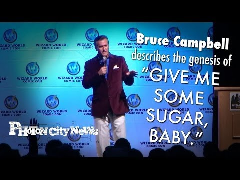 Bruce Campbell Describes the Genesis of