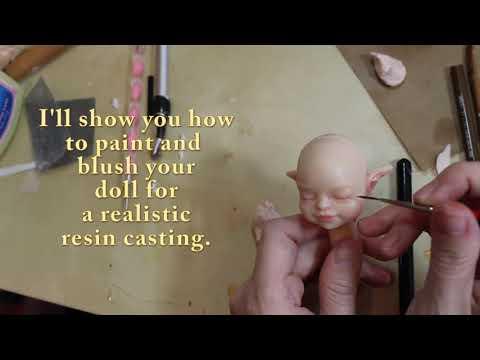 Molding and Casting in Resin - Sneak Peek DVD Set - MakingFairies.com & SculptUniversity.com