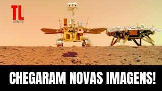 China Libera Imagens Inéditas e em Alta Resolução de Marte - Rover Zhurong