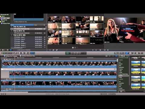 Final Cut Pro X (FCPX) True Multicam - Music Video Tutorial