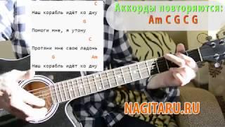 """LIZER - """"Корабли"""". Простые аккорды (Тональность Am), слова, разбор   Песни под гитару - Nagitaru.ru"""