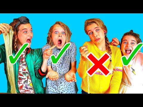 SOCKIE'S OUT!! IN OR OUT SLIME CHALLENGE 2 By The Norris Nuts