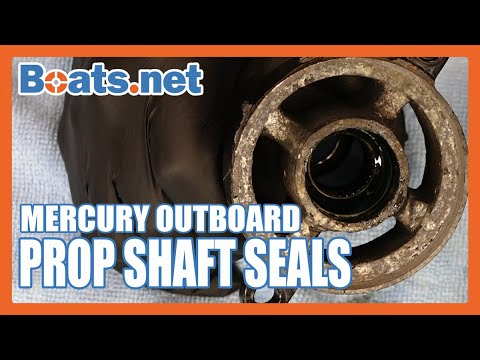 Mercury 40HP Output Seal Replacement | Mercury 40HP 2-Stroke Prop Seal Replacement | Boats.net