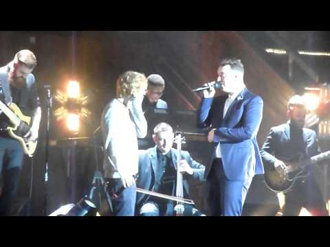 Sam Smith with Ed Sheeran stay with me at the albert hall manchester