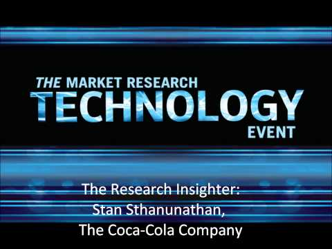 Research Insighter: Stan Sthanunathan, Coca-Cola VP Of Marketing Strategy And Insights