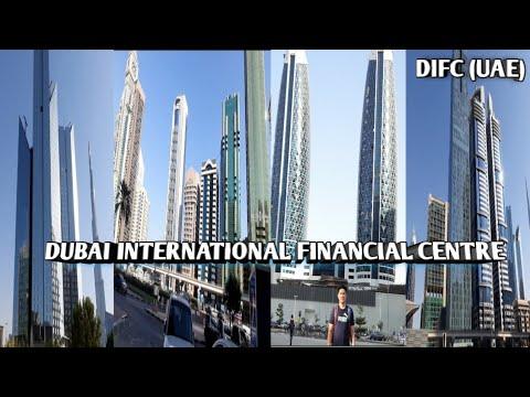 DIFC DUBAI INTERNATIONAL FINANCIAL CENTRE AMIZING BEAUTIFUL BUILDINGS (DUBAI UAE)