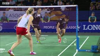WD Bronze - MAS vs ENG - 2014 Commonwealth Games badminton